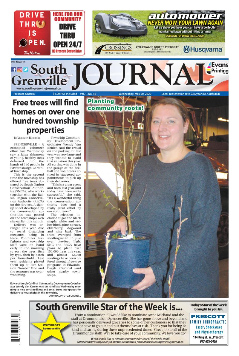 South Grenville Journal May 20, 2020