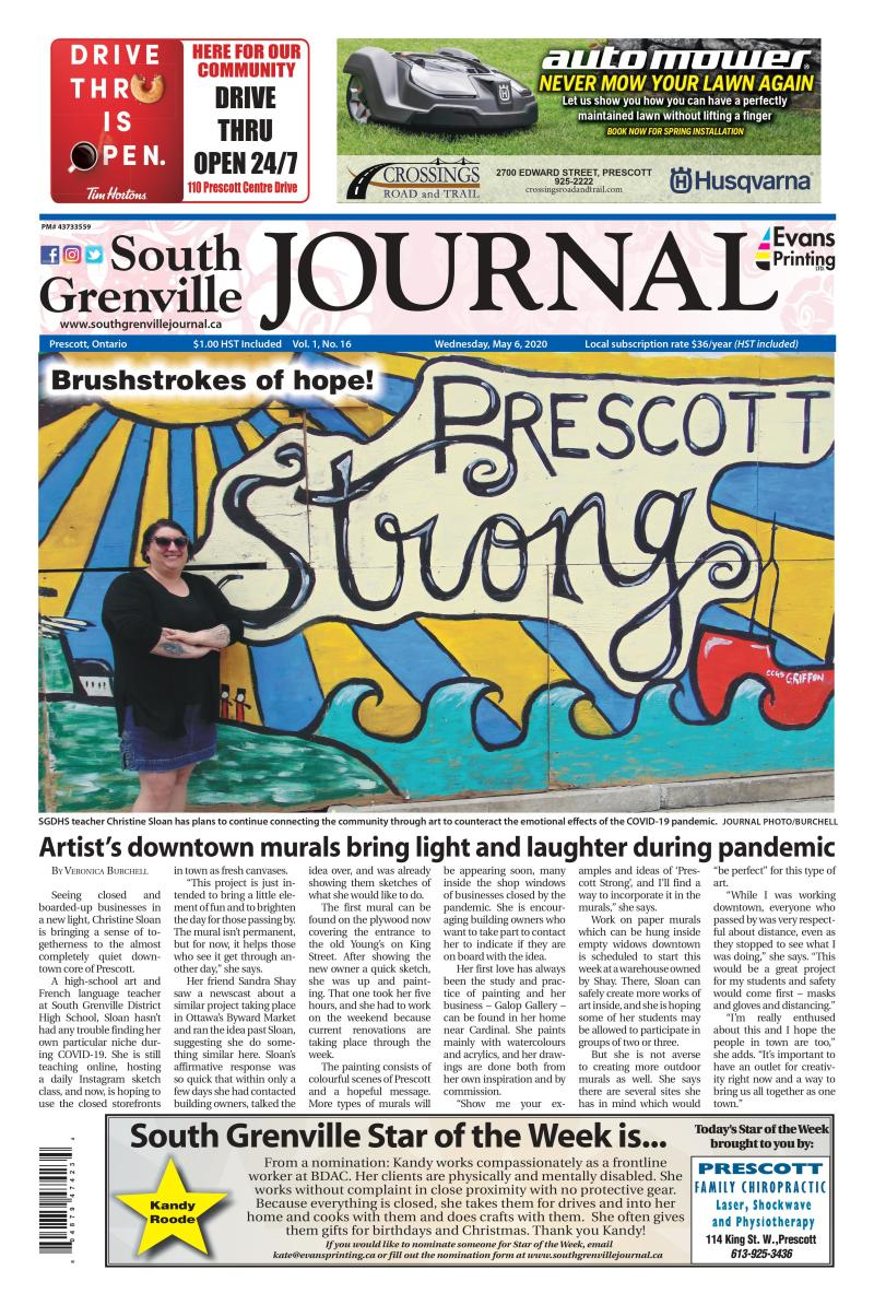 South Grenville Journal May 6, 2020