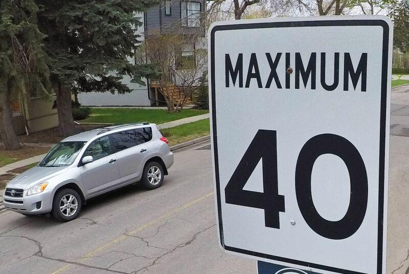 Speed limit change in Prescott
