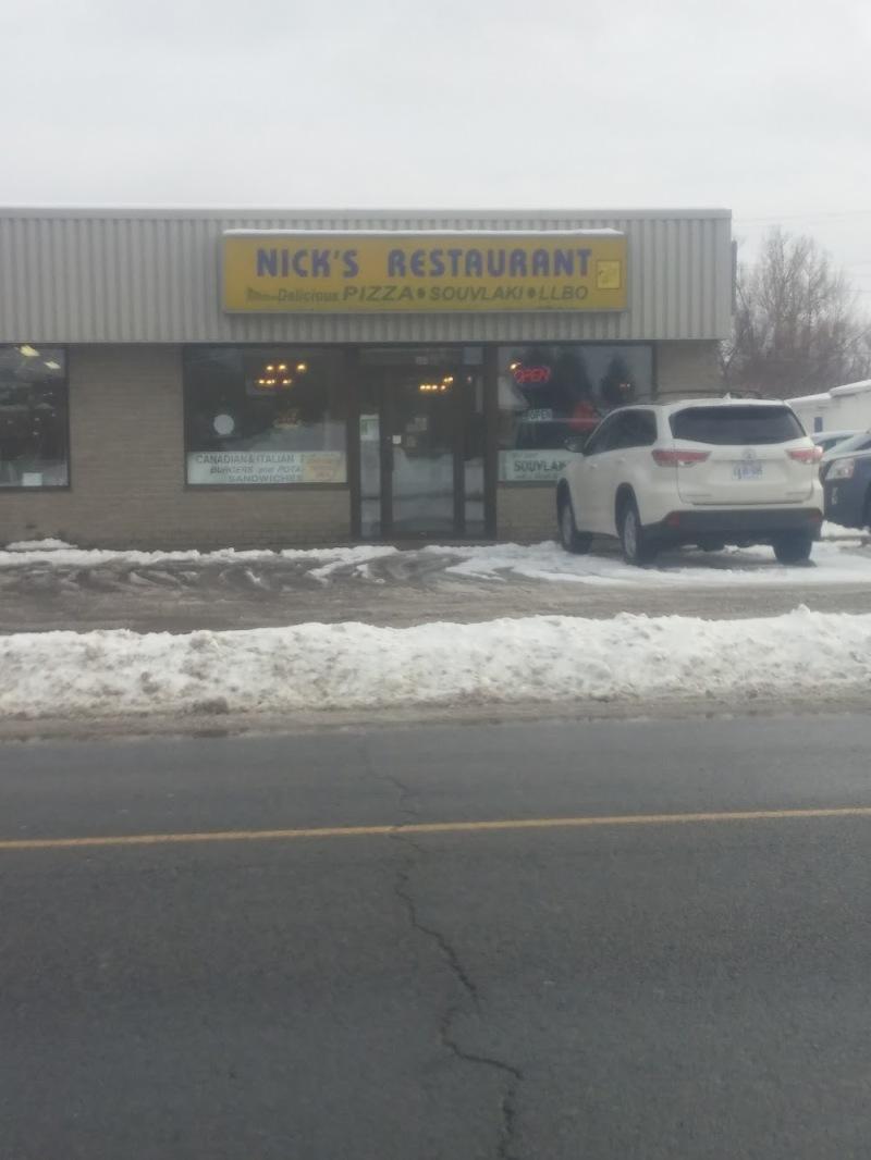 Break-in at Nick's Restaurant