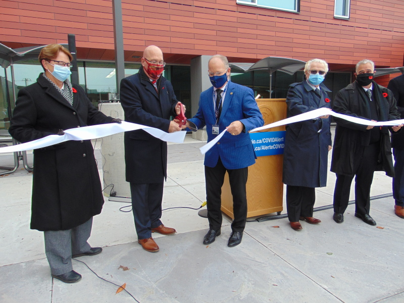 BGH cuts ribbon to new tower