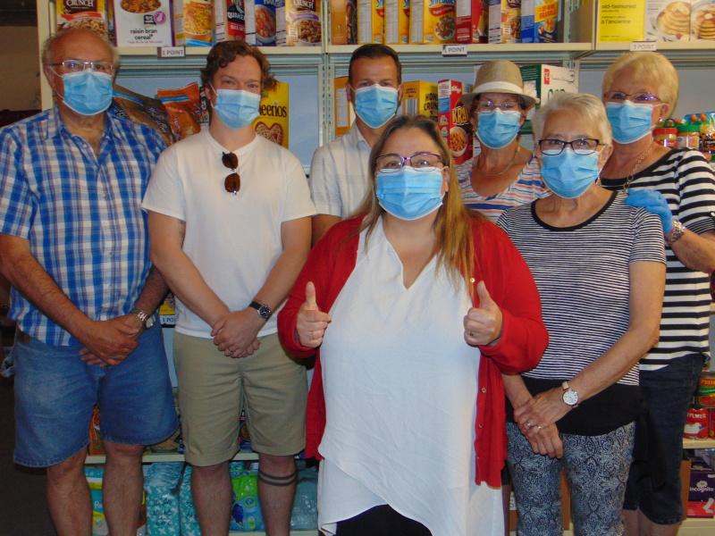 Foodbank receives 1,500 masks via Cardinal-China connection