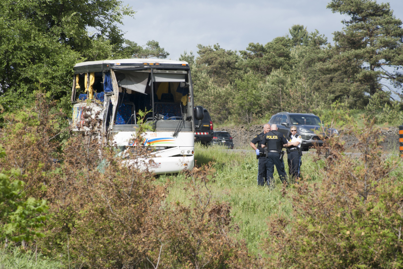OPP confirm 2nd death in highway 401 bus crash