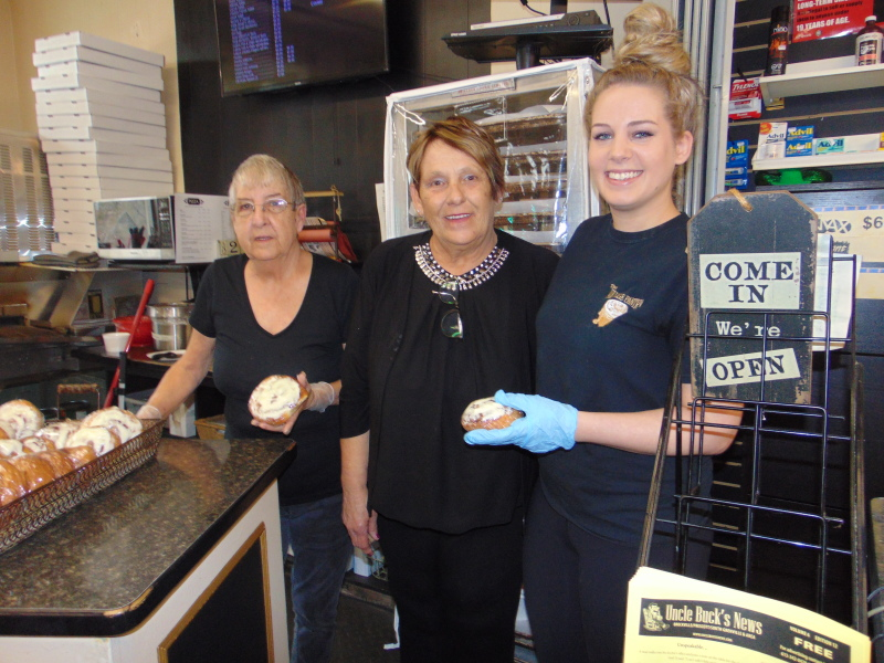 Ovens still warm at busy Village Pantry