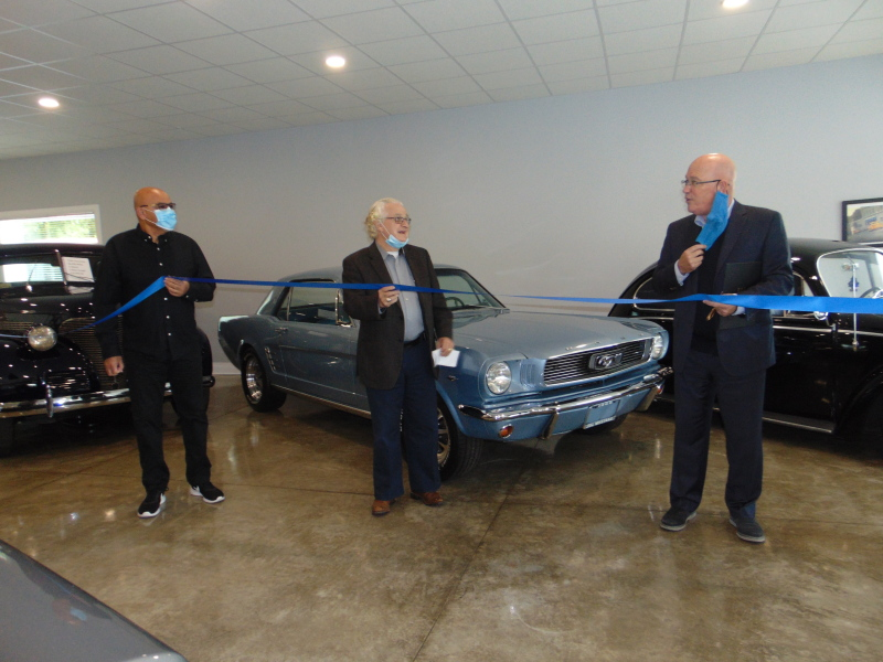 Classic cars a feature of new Cardinal auto centre