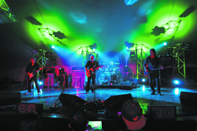 April Wine, seen here headlining at the Spencerville Fair, will perform at the 1000 Islands Regatta on June 29.  JOURNAL PHOTO/FRASER
