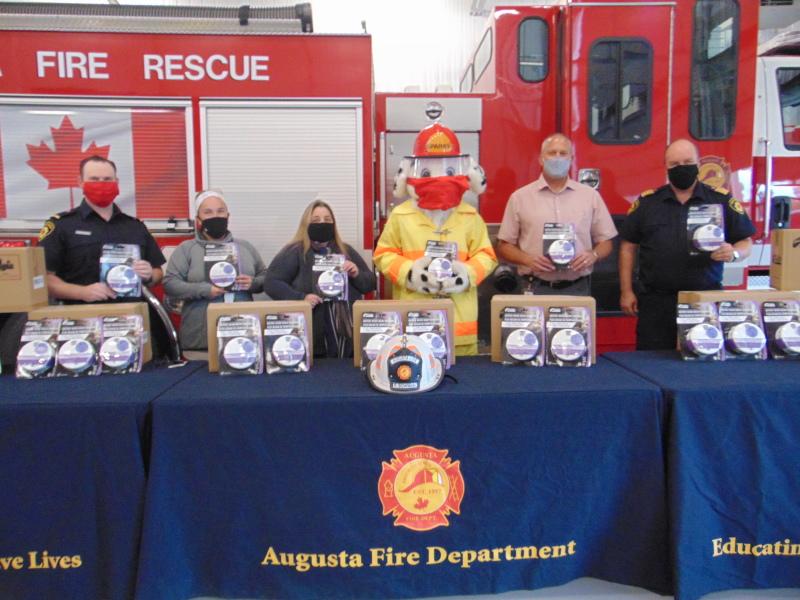 Enbridge Gas and Augusta Fire Department team up