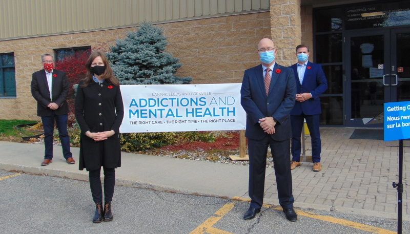 Provincial grant provides boost to area mental health services
