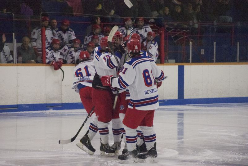 Rangers earn split in weekend NCJHL action