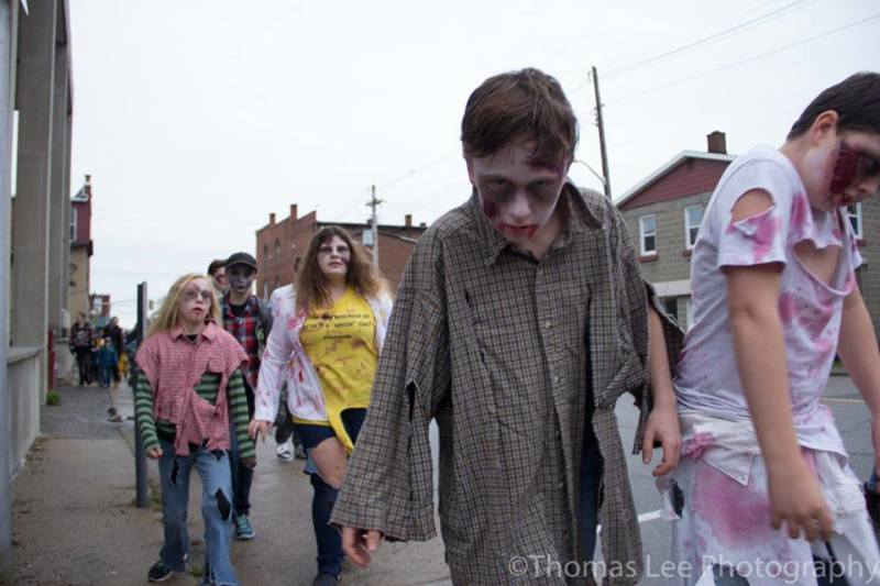 Zombie walk set to raise spirits on Saturday in Prescott
